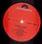 Double LP - Cream - Wheels Of Fire