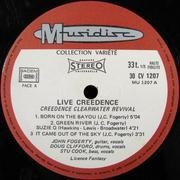 LP - Creedence Clearwater Revival - Live Creedence