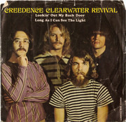 7inch Vinyl Single - Creedence Clearwater Revival - Lookin' Out My Back Door / Long As I Can See The Light - Indianapolis Pressing