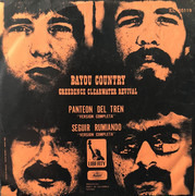 7inch Vinyl Single - Creedence Clearwater Revival - Bayou Country - Orange cover
