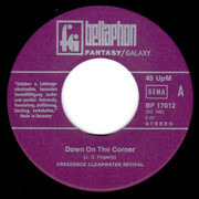 7inch Vinyl Single - Creedence Clearwater Revival - Down On The Corner