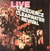 Double LP - Creedence Clearwater Revival - Live In Europe - Portugal