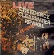 Double LP - Creedence Clearwater Revival - Live In Europe