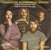 7inch Vinyl Single - Creedence Clearwater Revival - Lookin' Out My Back Door / Long As I Can See The Light
