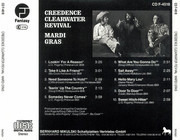 CD - Creedence Clearwater Revival - Mardi Gras