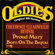 7inch Vinyl Single - Creedence Clearwater Revival - Proud Mary