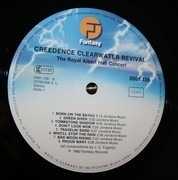 LP - Creedence Clearwater Revival - The Royal Albert Hall Concert