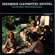 7inch Vinyl Single - Creedence Clearwater Revival - Travelin' Band / Who'll Stop The Rain