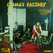 LP - Creedence Clearwater Revival - Cosmo's Factory - Bellaphon BLPS
