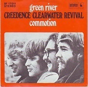 7inch Vinyl Single - Creedence Clearwater Revival - Green River / Commotion