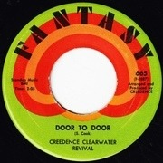 7inch Vinyl Single - Creedence Clearwater Revival - Sweet Hitch-Hiker / Door To Door