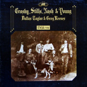 LP - Crosby, Stills, Nash & Young - Déjà Vu - Gatefold