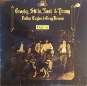 LP - Crosby, Stills, Nash & Young - Déjà Vu