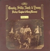 LP - Crosby, Stills, Nash & Young - Déjà Vu - Gatefold/PR