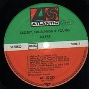 LP - Crosby, Stills, Nash & Young - So Far