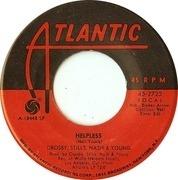 7inch Vinyl Single - Crosby, Stills, Nash & Young - Woodstock / Helpless
