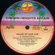 12inch Vinyl Single - Crown Heights Affair - You Gave Me Love / Galaxy Of Love - Palms Label