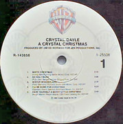 LP - Crystal Gayle - A Crystal Christmas - Szill sealed