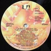 LP - Crystal Gayle - Crystal