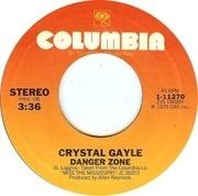 7inch Vinyl Single - Crystal Gayle - The Blue Side