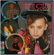 LP - Culture Club - Colour By Numbers - Poster