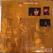 Double LP - Culture - Cultural Livity : Live Culture '98