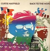 LP - Curtis Mayfield - Back To The World