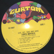 LP - Curtis Mayfield - Give, Get, Take And Have - Los Angeles