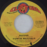 7inch Vinyl Single - Curtis Mayfield - Sweet Exorcist
