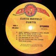 LP - Curtis Mayfield - Curtis - Gatefold