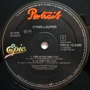 12inch Vinyl Single - Cyndi Lauper - Time After Time