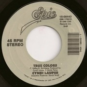 7inch Vinyl Single - Cyndi Lauper - True Colors / What's Going On