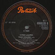 12inch Vinyl Single - Cyndi Lauper - True Colors