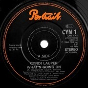 7inch Vinyl Single - Cyndi Lauper - What's Going On