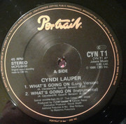 12inch Vinyl Single - Cyndi Lauper - What's Going On
