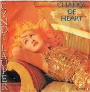 7inch Vinyl Single - Cyndi Lauper - Change Of Heart
