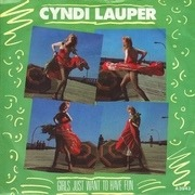 7inch Vinyl Single - Cyndi Lauper - Girls Just Want To Have Fun - Paper Labels