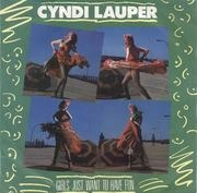 7inch Vinyl Single - Cyndi Lauper - Girls Just Want To Have Fun / Right Track Wrong Train