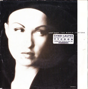 7inch Vinyl Single - Cyndi Lauper - The World Is Stone