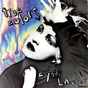 7inch Vinyl Single - Cyndi Lauper - True Colors