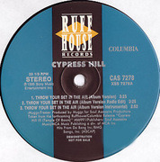 12inch Vinyl Single - Cypress Hill - Throw Your Set In The Air