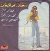 7'' - Daliah Lavi - Willst Du Mit Mir Geh'n