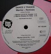 12'' - Dance 2 Trance - Warrior (Remixes)