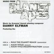12'' - Danny Elfman - Planet Of The Apes Soundtrack