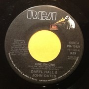 7inch Vinyl Single - Daryl Hall & John Oates - One On One