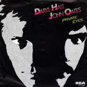 7'' - Daryl Hall & John Oates - Private Eyes