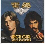 7'' - Daryl Hall & John Oates - Rich Girl