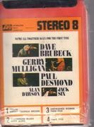 8-Track - Dave Brubeck - We're All Together Again For The First Time - Still sealed