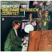 LP - Dave -Quartet- Brubeck - Newport 1958 - HQ-Vinyl