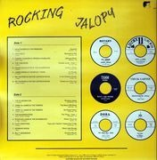 LP - Dave Rogers & The Premiers, Jack Holt, The Checkers - Rocking Jalopy